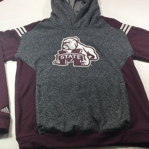 Adidas Climawarm Mississippi State Bulldogs Hoodie